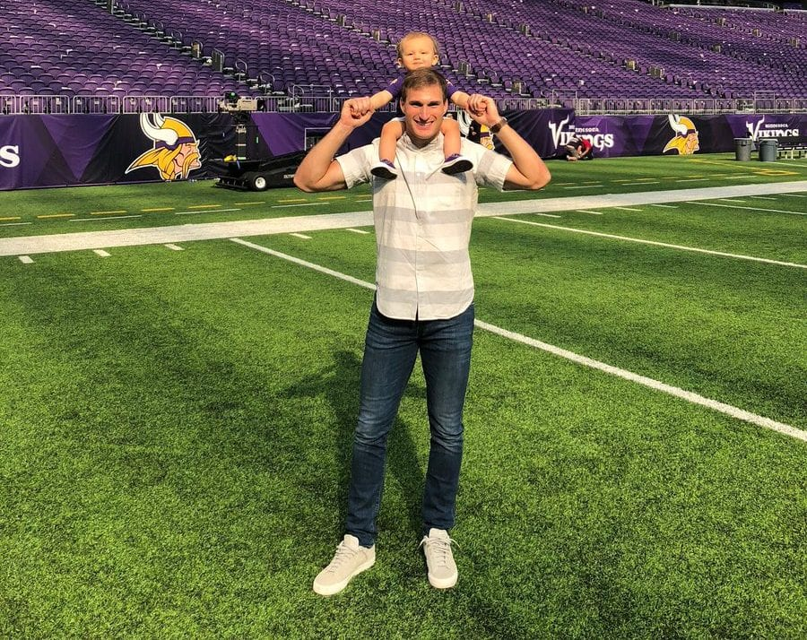 Kirk Cousins and his wife Julie announce they are