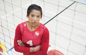 Volleyball: Alexa Edwards' Smash Hit