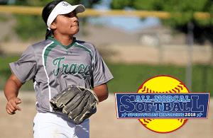 All-NorCal Softball selection Rachel Cid of Tracy