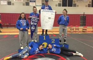 Durham wrestling, Girls section champions