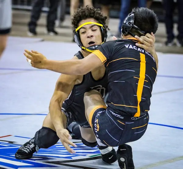 All-NorCal Wrestling Honors, Damion Elliott, Del Oro