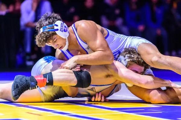 Chase Saldate, Gilroy wrestling