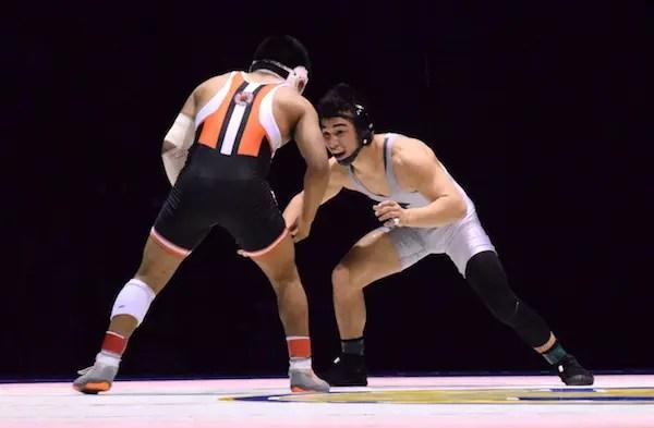 Peyton Omania, De La Salle wrestling