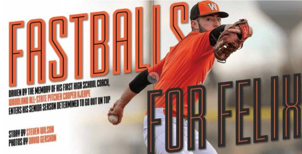 Cooper Hjerpe, SportStars Magazine, Woodland Baseball