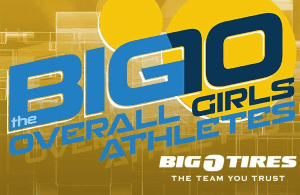 Overall Girls Athlete Big 10, SportStars