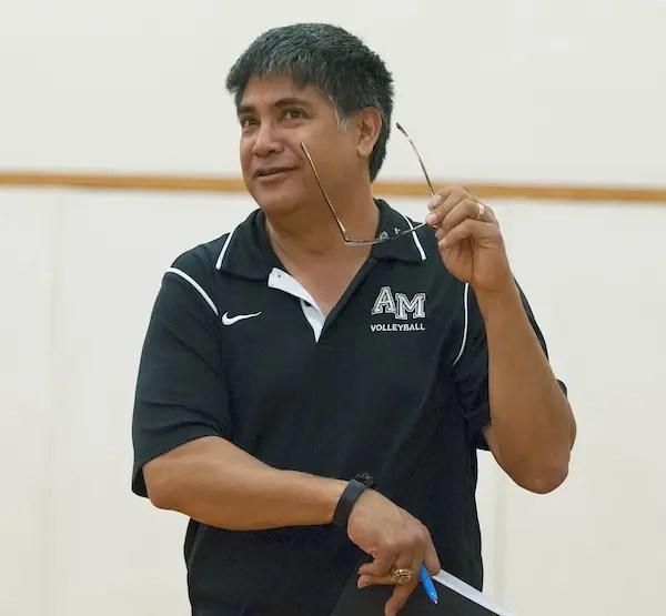 Fall Sports, COVID, Bret Almazan-Cezar, Volleyball