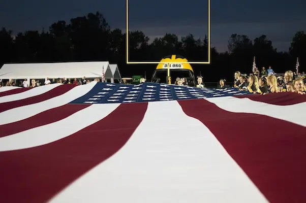 Flag, Del Oro, Football