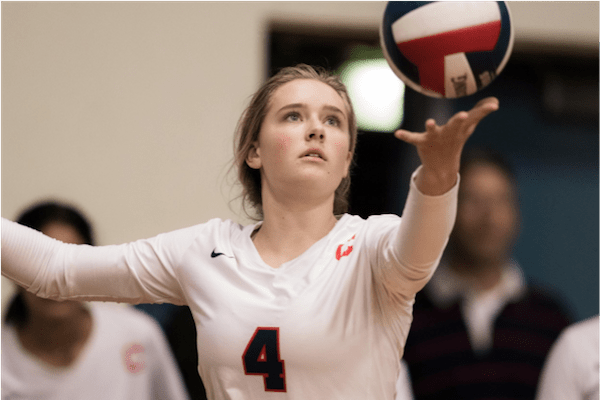 Lindsay Berg, Touch, Volleyball, Tips