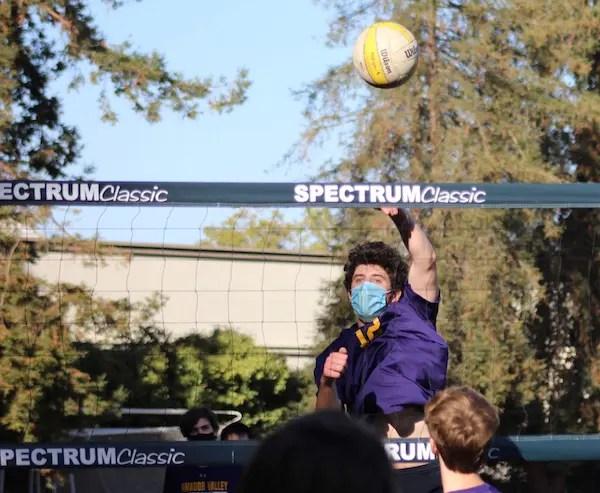 Amador Valley boys volleyball, Ethan Gray