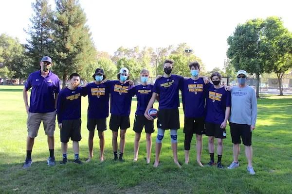 Amador Valley boys volleyball, Pleasanton