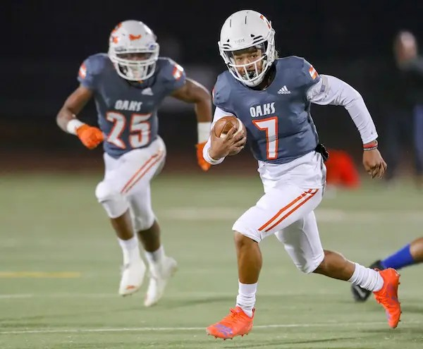 Anthony Grigsby Jr., Cosumnes Oaks Football