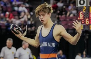 The Open Mat National High School Rankings – October 28, 2020 (CA Wrestlers) 120 – ZETH ROMNEY (Chaminade, S, 11) #8, (Feature photo: Chris Mora/frominsidethemat.com)