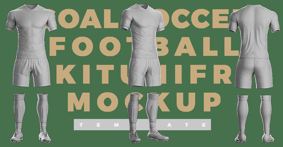Download Soocer Kit Jersey & Uniform Builder Template