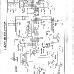 1986 Harley Sportster Wiring Diagram 2000 Jeep Grand Cherokee Weekend Tinkering Re The Sporty Project Was Much Easier To Read Than One In Service Manual Since I Could Zoom On My Ipad Trace Lines For Connectors