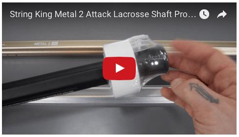 String King Metal 2 Attack Lacrosse Shaft