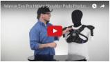 Warrior Evo Pro Hitlyte Lacrosse Shoulder Pads