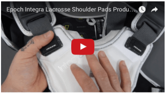 YouTube - Epoch Integra Lacrosse Shoulder Pads