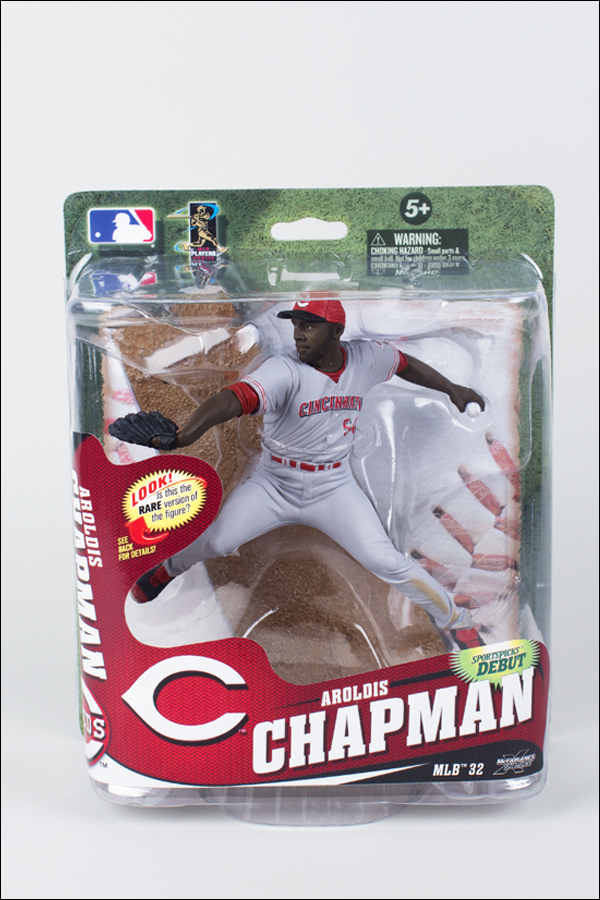 Aroldis Chapman Gray Jersey (Collector's Level Gold)