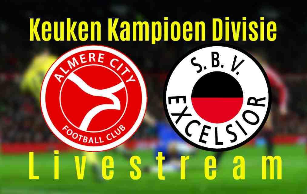 Livestream Almere City FC - Excelsior
