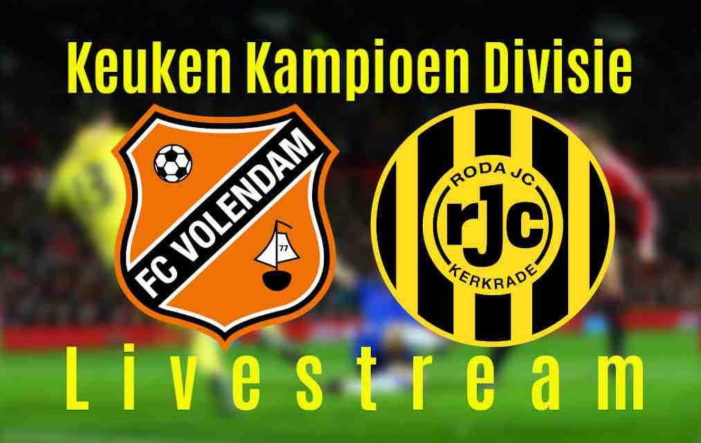 Livestream FC Volendam - Roda JC