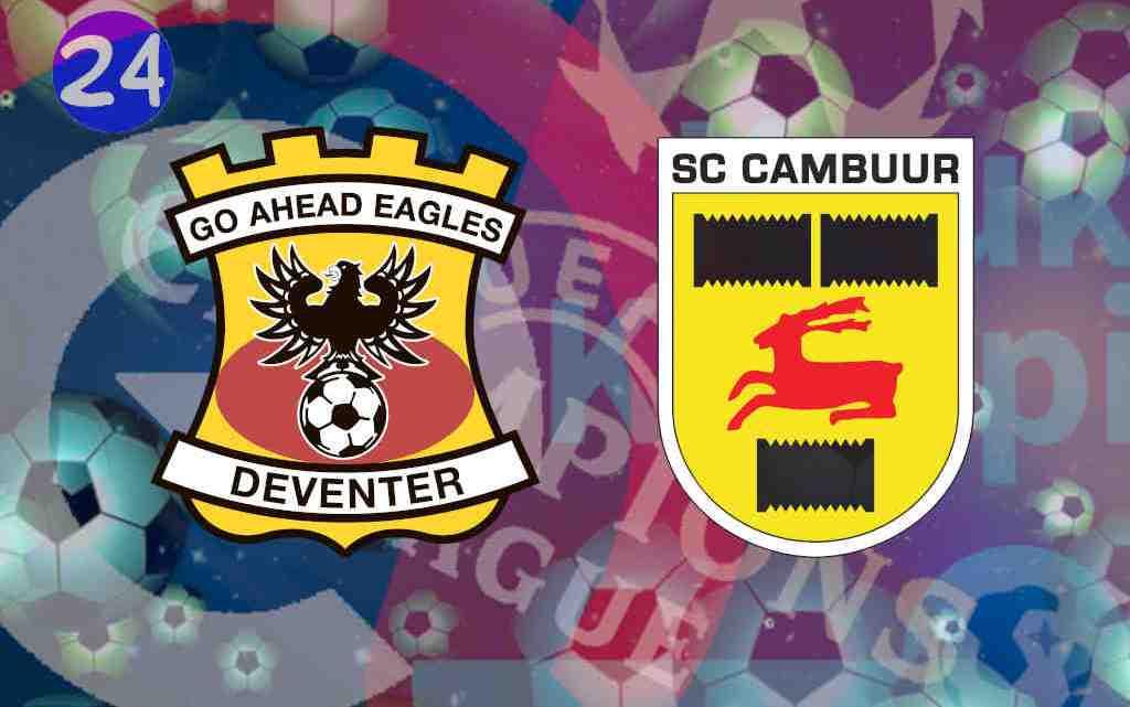 Livestream Go Ahead Eagles - SC Cambuur