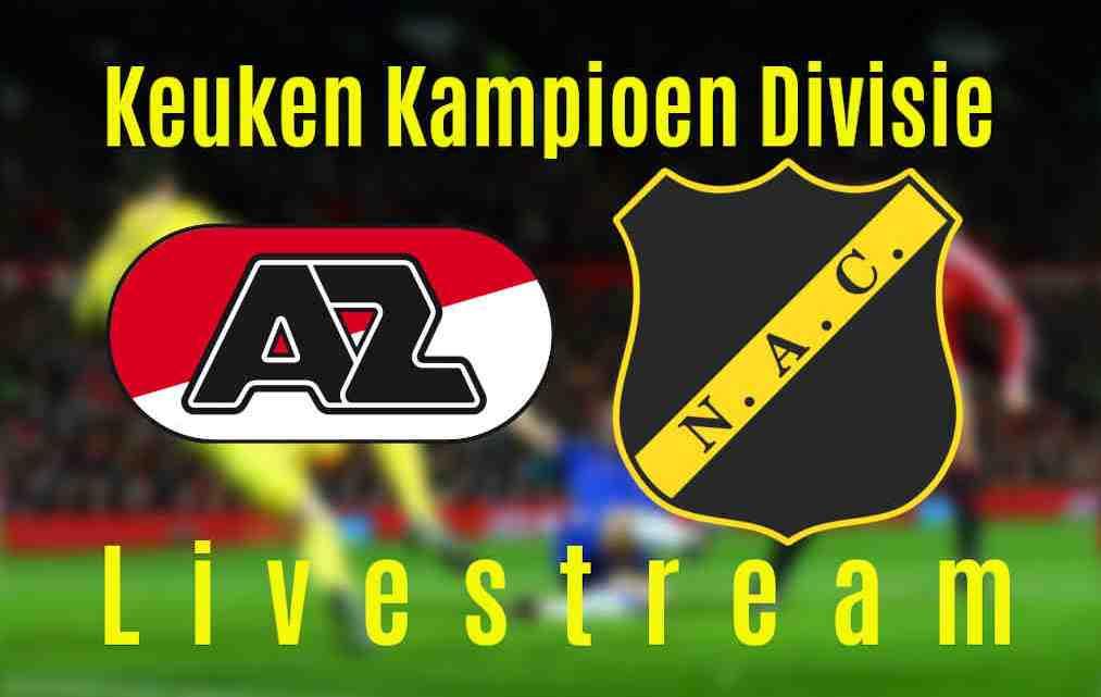 Livestream Jong AZ - NAC Breda