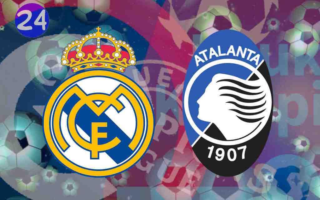 Livestream Real Madrid - Atalanta Bergamo