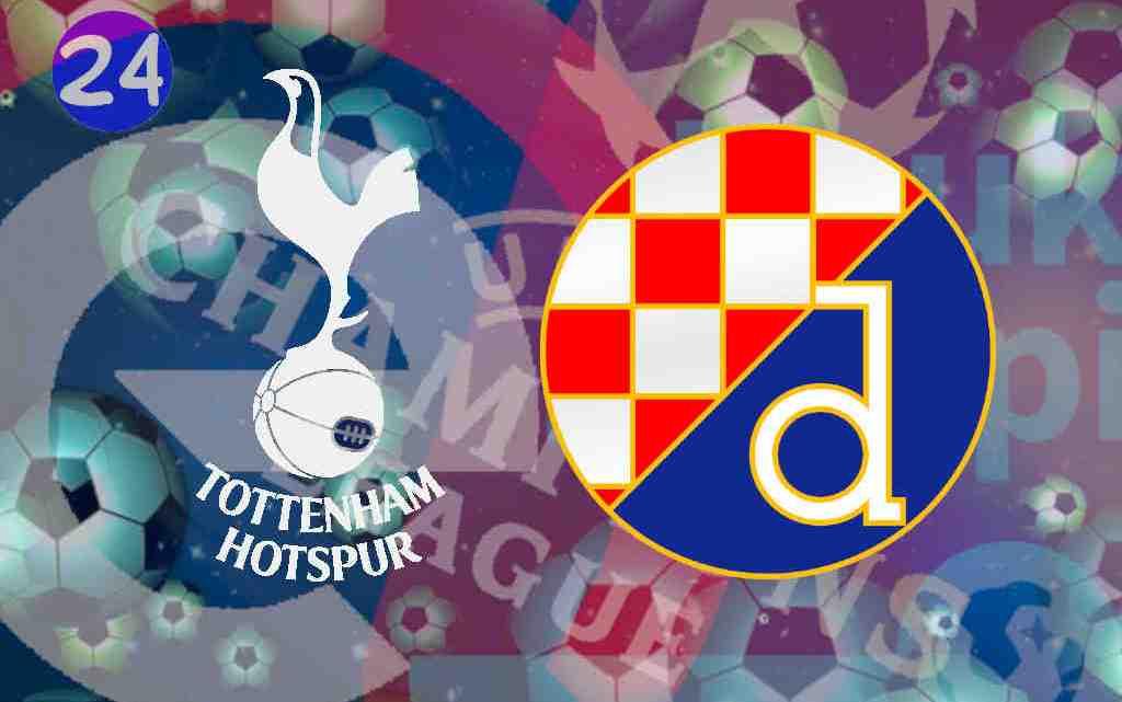 Livestream Tottenham Hotspur - Dinamo Zagreb