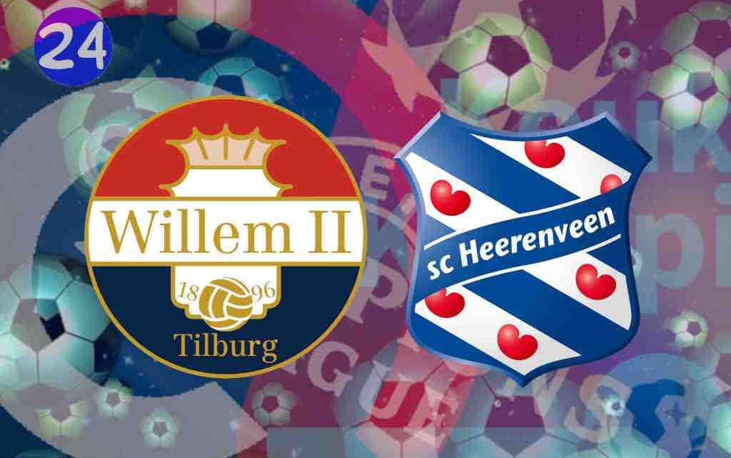 Livestream Willem II - SC Heerenveen