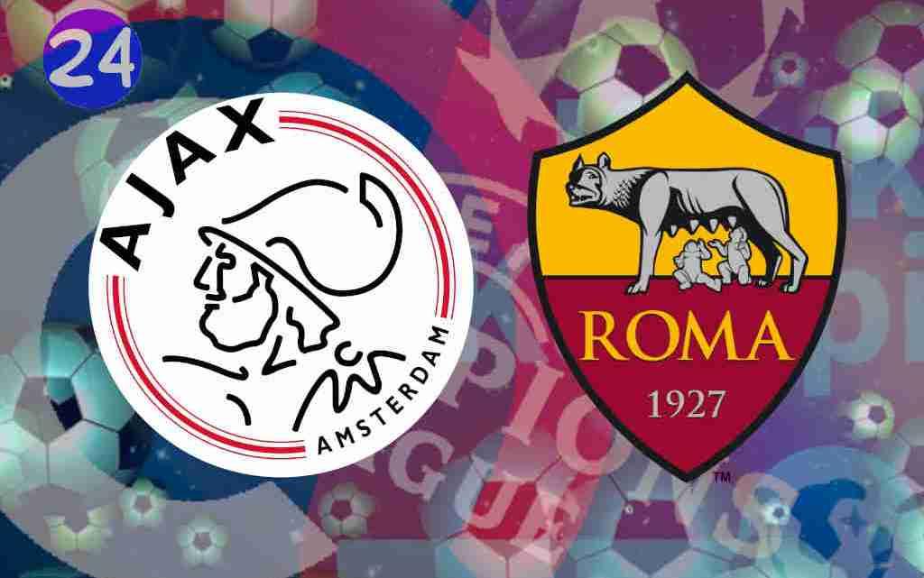 Livestream Ajax - AS Roma