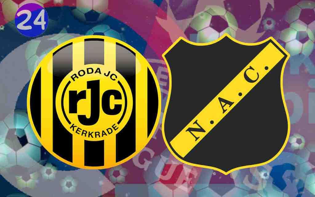 Livestream Roda JC - NAC Breda