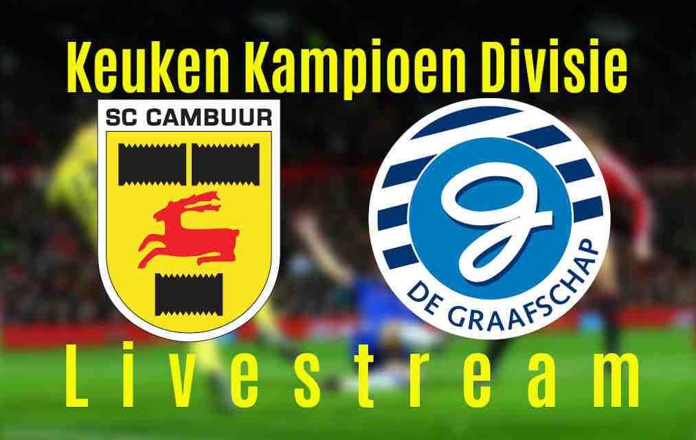 Livestream SC Cambuur - De Graafschap