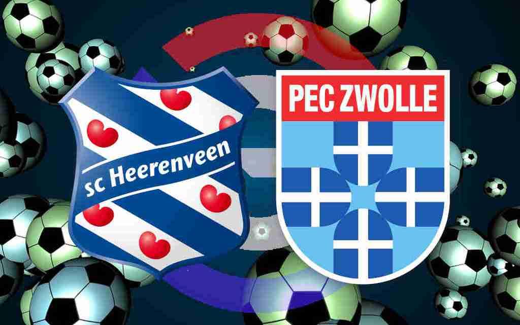 Kijk gratis SC Heerenveen - PEC Zwolle