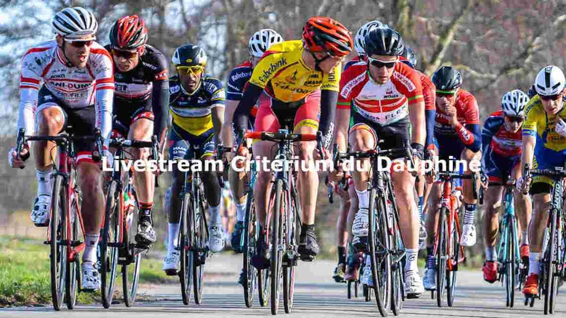 Livestream Critérium du Dauphiné