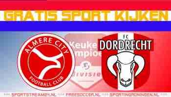 Livestream Almere City FC vs FC Dordrecht