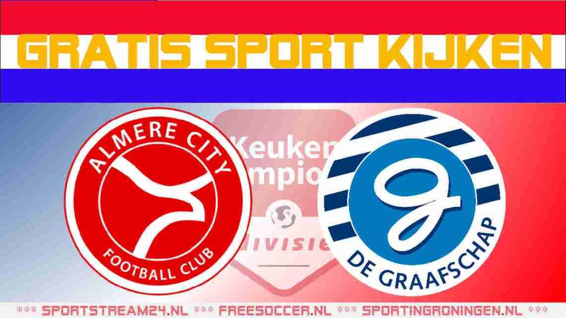 Livestream Almere City FC vs De Graafschap