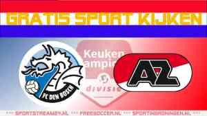 Livestream FC Den Bosch vs Jong AZ