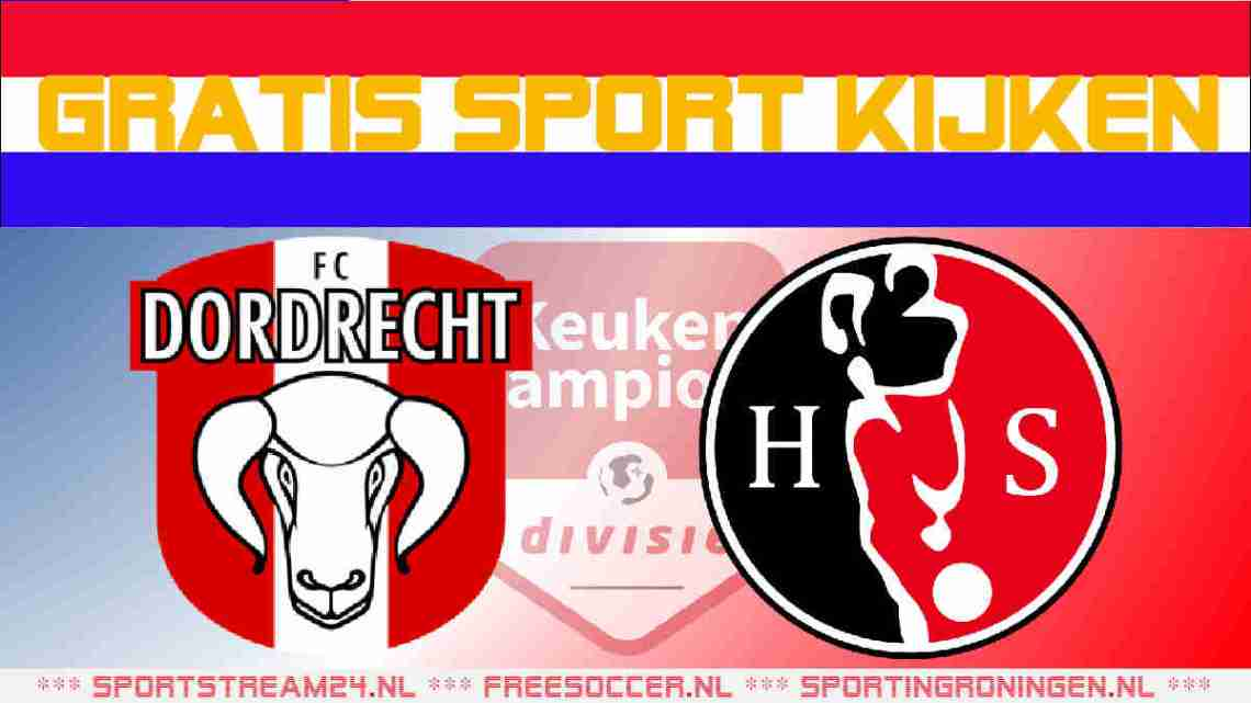 Livestream FC Dordrecht vs Helmond Sport