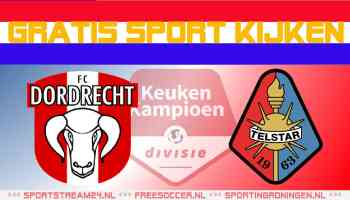 Livestream FC Dordrecht vs Telstar