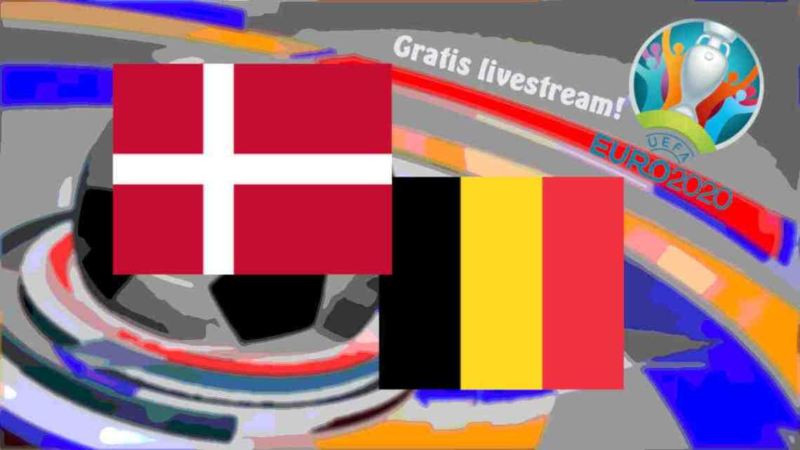Livestream Denemarken - België