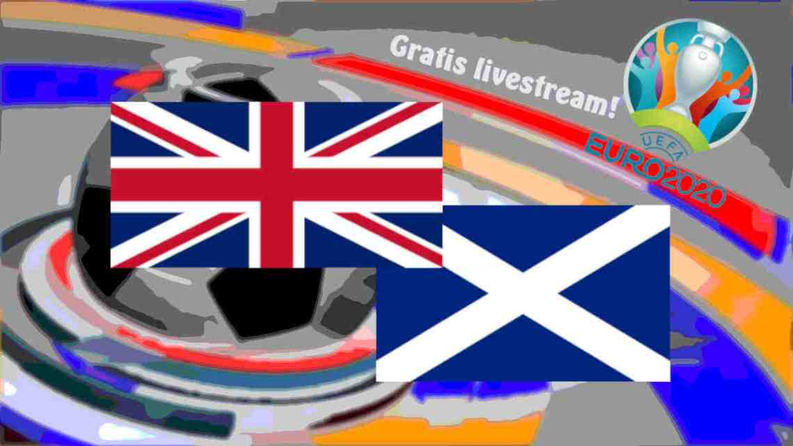Livestream Engeland - Schotland