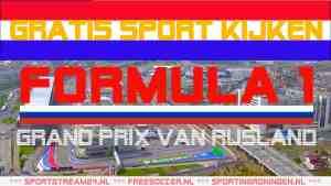 Livestream F1 GP Rusland