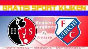 Livestream Helmond Sport vs Jong FC Utrecht