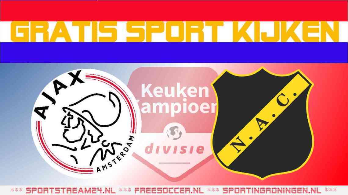 Livestream Jong Ajax vs NAC Breda