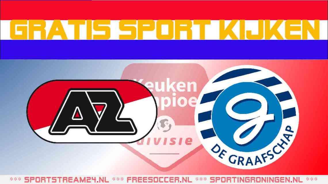Livestream Jong AZ vs De Graafschap