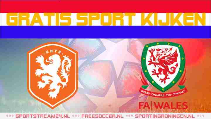 Livestream Jong Oranje - Jong Wales