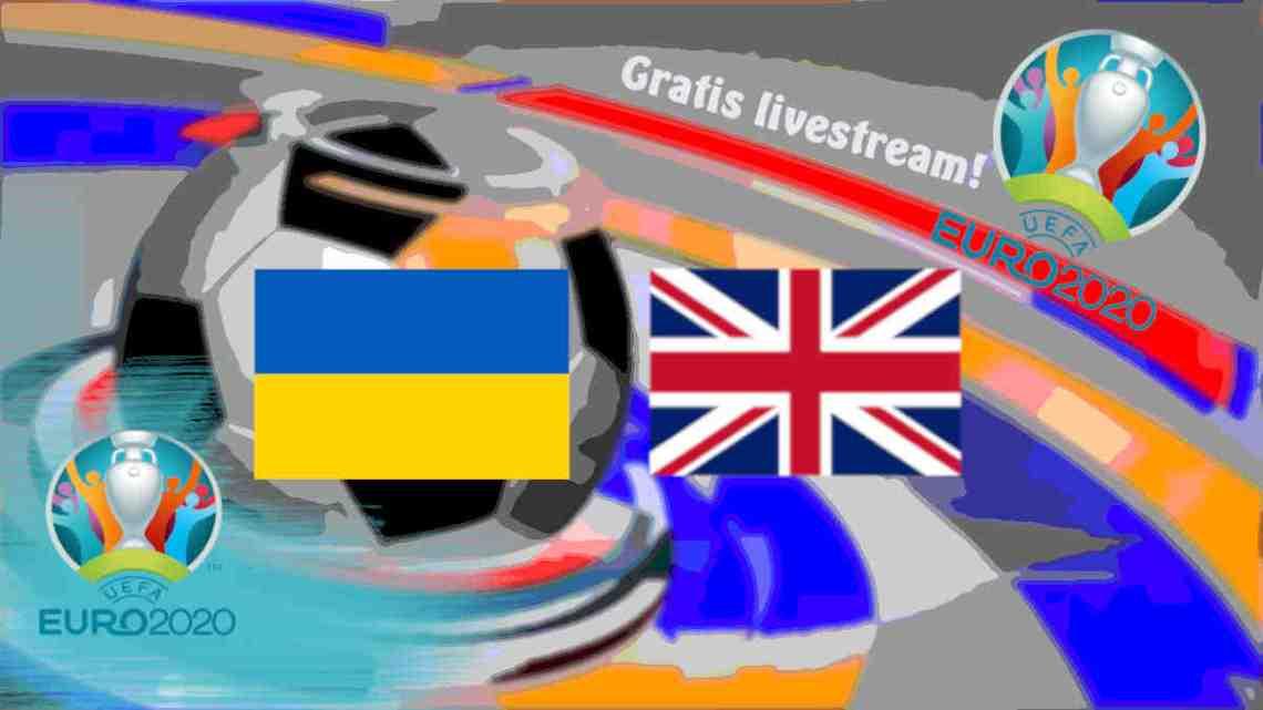 Livestream Oekraïne - Engeland