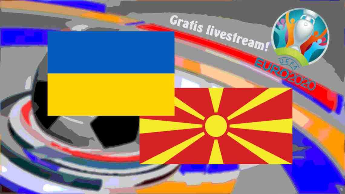 Livestream Oekraïne - Noord Macedonië