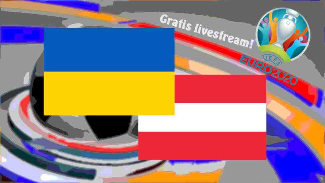 Livestream Oekraïne - Oostenrijk