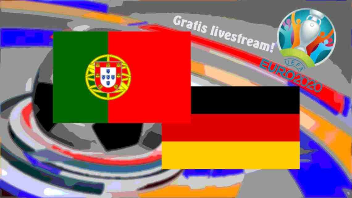 Livestream Portugal - Duitsland